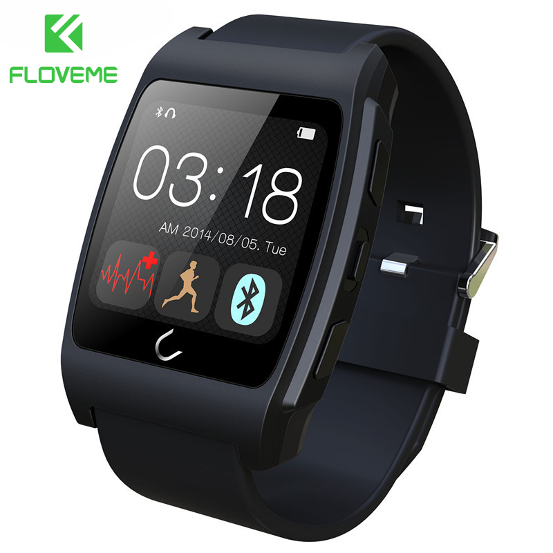 FLOVEME D6 Health Sport Smart Watch Heart Rate Monitor NFC Pedometer Android And IOS Smartwatch Bracelet For iPhone Samsung HTC hatem alhadainy oral health and heart