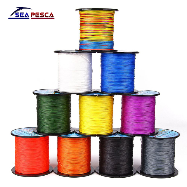 SEAPESCA 100M 6-100LB PE Multifilament Super Braided Fishing Line Lure As Gift Carp Fishing For Fish Rope Cord ZB392
