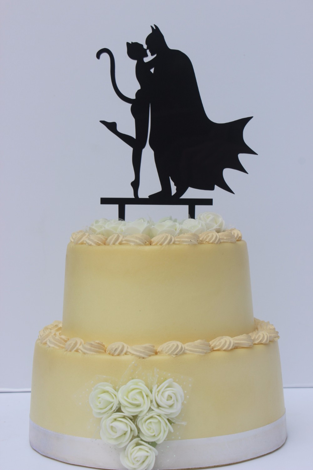 Halloween Party Decoration Man and Catwoman Cake Topper-in Cake ...