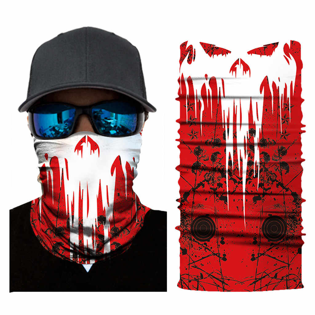 Ciclo de Bicicleta Unisex Ski Lenço Magia Scarf Máscara Facial Cs Disfarce Das Mulheres Dos Homens de Moda Bandana Equipamento de Equitação Metade do Rosto do Vento máscara