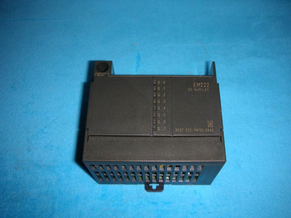 1PC USED * 6ES7222-1HF00-0XA0 6es7222 1bf21 0xa0 plc