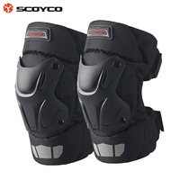 SCOYCO Motorcycle Knight Knee Legguards Outdoor Riding Knee Dropping Windproof Cold Knee K15 2