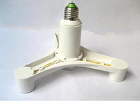 E27 TO E27 lamp holder converter 1 to 4 1 turn 4 250*150mm