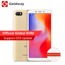 Global ROM Original Xiaomi Redmi 6A 6 A 2GB RAM 16GB ROM Smartphone 5.45'' 18:9 Full Screen Helio A22 Quad Core 13MP 3000mAh(Hong Kong,China)