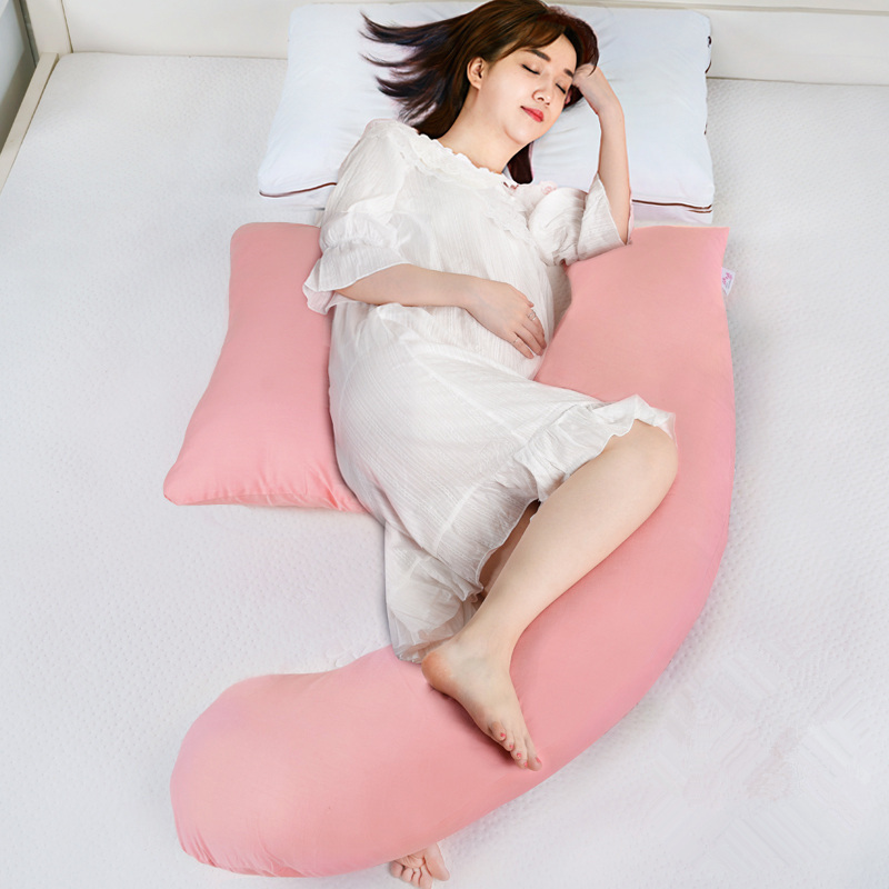 Adjustable Pregnant Body Pillow For Women Maternity H-Shaped Waist Pillows For Side Sleepers Breastfeeding Nursing Back Cushions