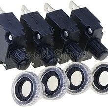 1 шт. автоматический выключатель MR1 3A, 4A, 5A, 6A, 7A, 8A, 10A, 15A, 16A, 18A, 20A, 25A, 30A тепловой переключатель защита от перегрузки кнопка и крышка
