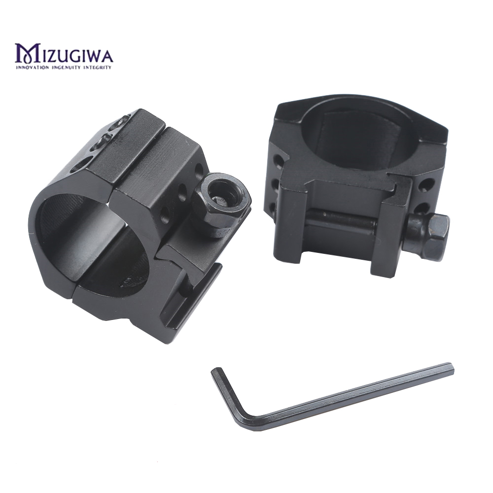 Mizugiwa-Low-Profile-6-Bolts-30mm-Ring-Weaver-Heavy-Duty-20mm-Picatinny-Rail-Base-Scope-Mount (5)