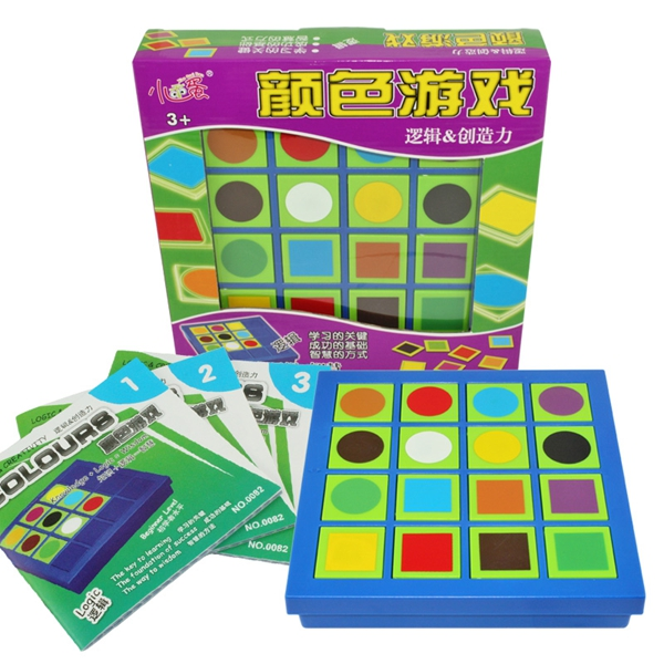 Free Shipping !!! Colours 120 Level Color Game Logic ...