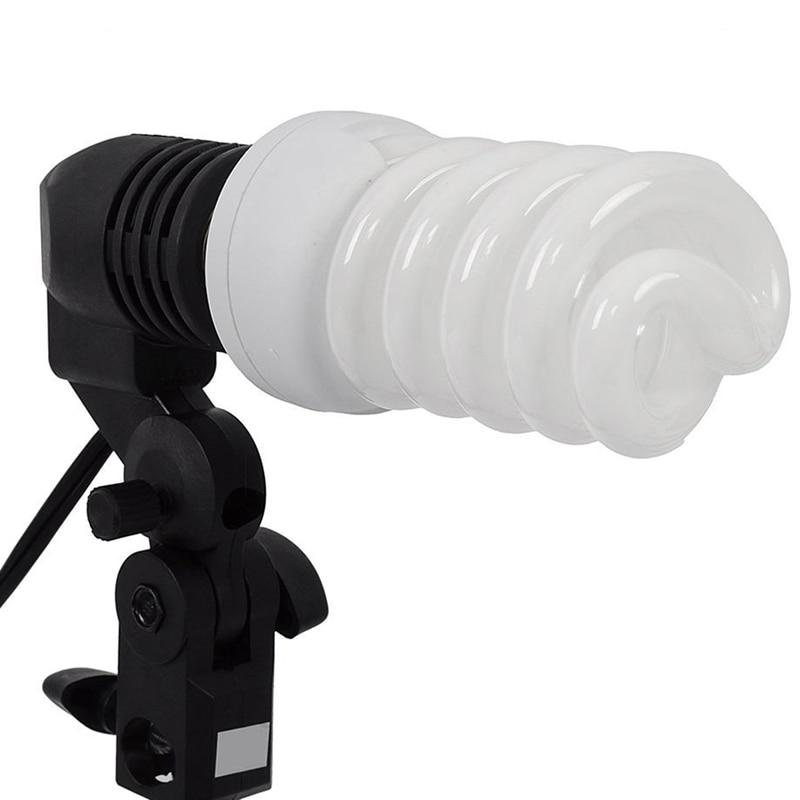 umbrella Holder Dual Independent Lamp Holder Screw Socket Electronic Light Stand Estabilizador E-27 Universal Lamp Holder