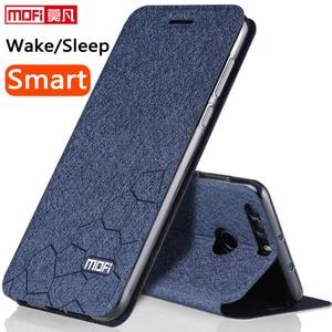 Image 1 - Flip Case Voor Huawei Honor 8 Case Stand Lederen Originele Pu Antiklopmiddelen Honor 8 Cover Smart Terug Fundas Silicon Honor8 coque Capa