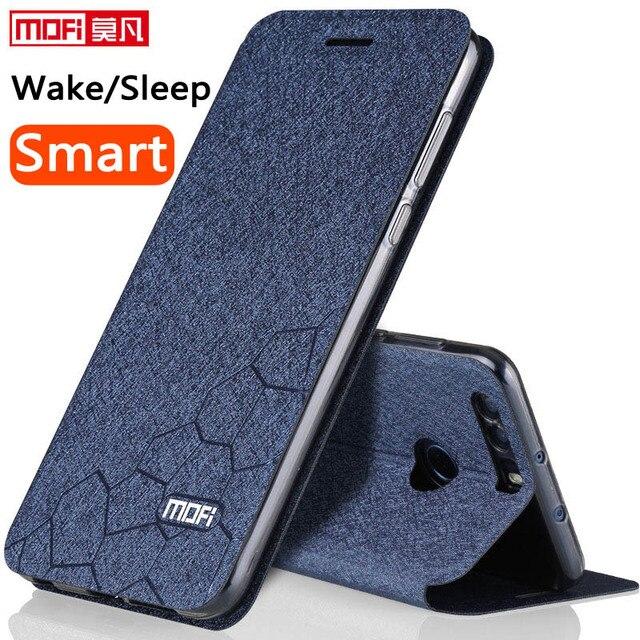 Flip Case Voor Huawei Honor 8 Case Stand Lederen Originele Pu Antiklopmiddelen Honor 8 Cover Smart Terug Fundas Silicon Honor8 coque Capa