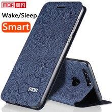 Huawei Honor 8 кожаный чехол 5.2 дюймов 3 ГБ 4 ГБ оригинальный Huawei Honor 8 крышка Черный Флип принципиально ультра тонкий силиконовый Honor 8 Coque MOFI