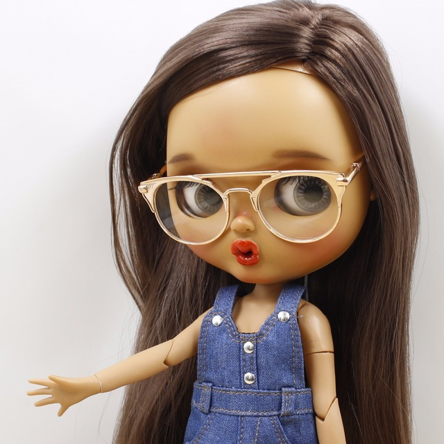 Neo Blythe Doll Aviator Sunglasses Cool Shades