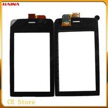 Black Front Glass For Nokia Asha 308 309 310 Touch Screen Digitizer Sensor