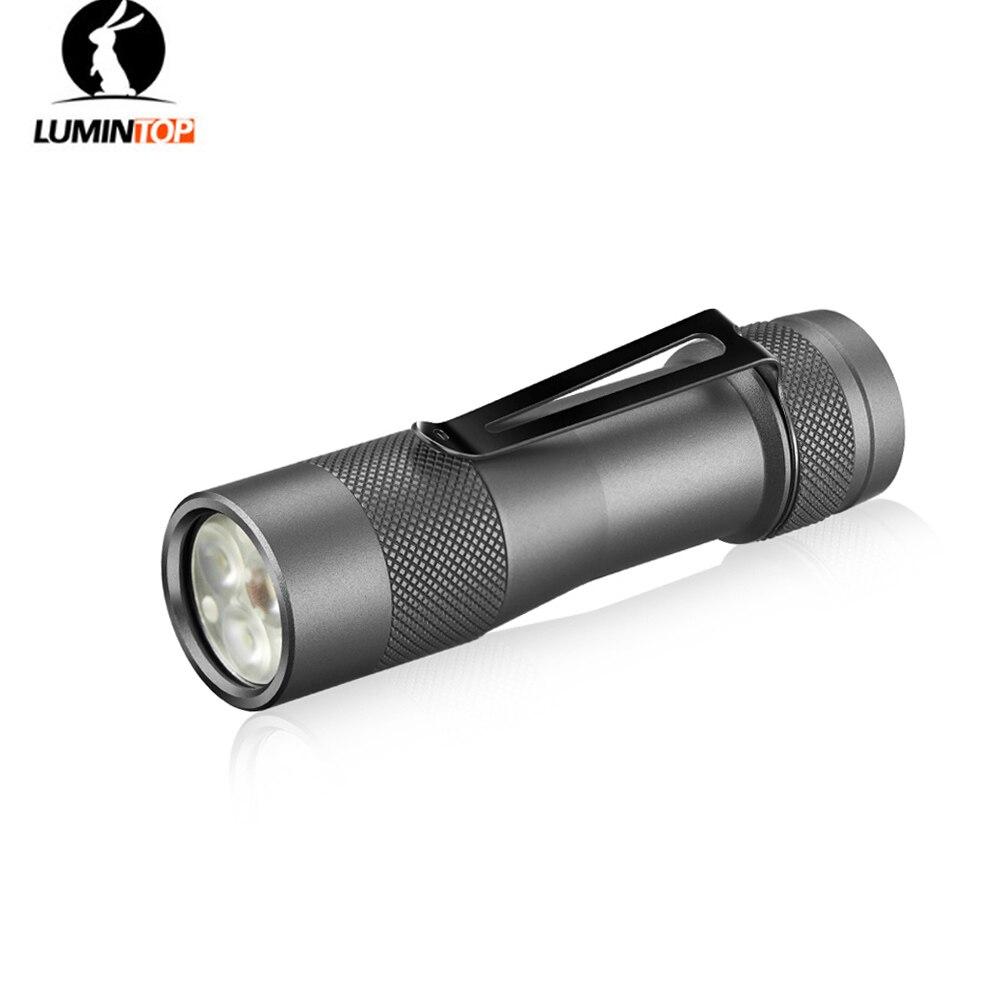 LUMINTOP FW3A EDC Small Powerful Flashlight 3 x Cree XP L Hi SST20 max 2800 lumen