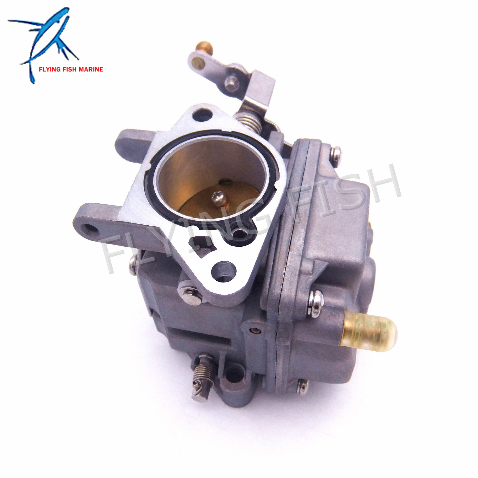купить Boat Motor Carburetor Assy 30F-01.03.03.00 for Hidea 2-stroke 25F 30F Outboard Engine по цене 4258.69 рублей