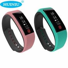Huiniu w808s умный браслет шагомер heart rate monitor сообщение вызов напоминание кровяное давление кислорода фитнес-трекер для android ios