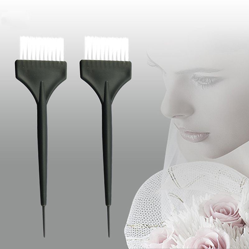 3pcs Salon Hair Brushes Bleach Tint Perm Application Dye Color Coloring Brush Comb For Hairdressing Hair Treatment Tool UN396