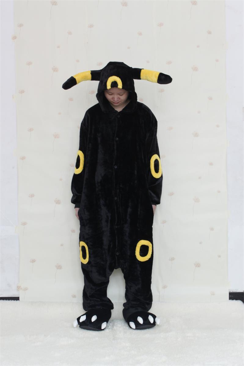 Adulto umbreon onesies pijamas anime Cosplay Pokemon Pikachu pijamas ...
