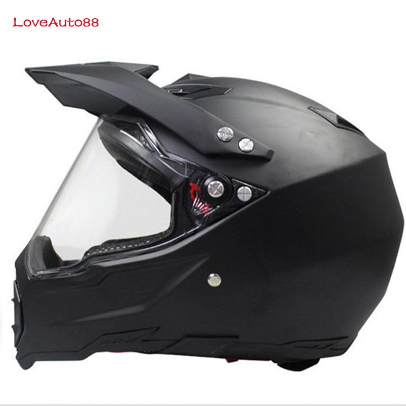 Image 2 - Full Face Motorcycle Helmet Professional Racing Helmet  motorcycle Adult motocross Off Road Helmet DOT Approved-in Helmets from Automobiles & Motorcycles