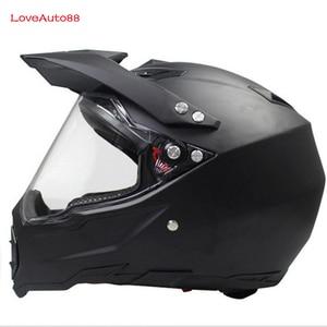 Image 2 - Full Face Motorcycle Helmet Professional Racing Helmet  motorcycle Adult motocross Off Road Helmet DOT Approved