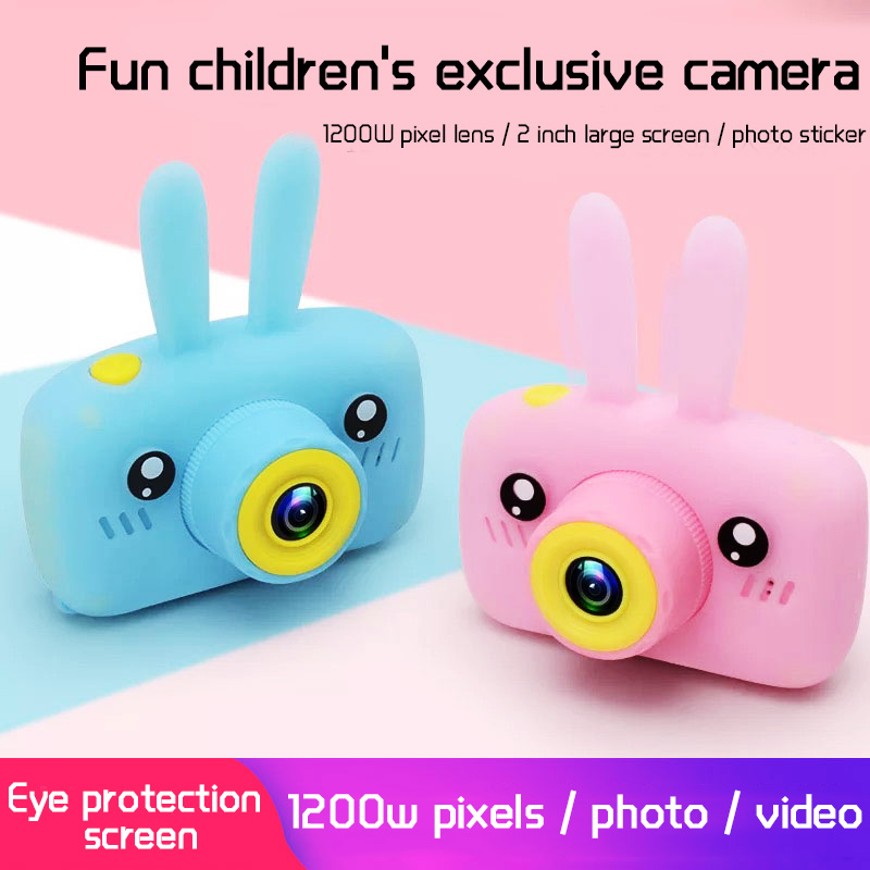 Children Mini Camera Full HD 1080P Portable Digital Video Photo Camera 2 Inch Screen Display Children ForKid Game Study Camera