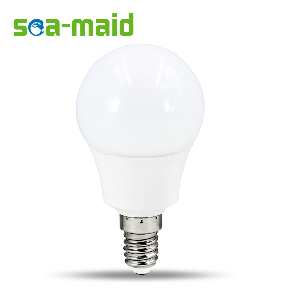 Led bulb lamps e14 220v 240v light bulb smart ic real power 4w 6w 7w high brightness lampada led Smart light bulbs