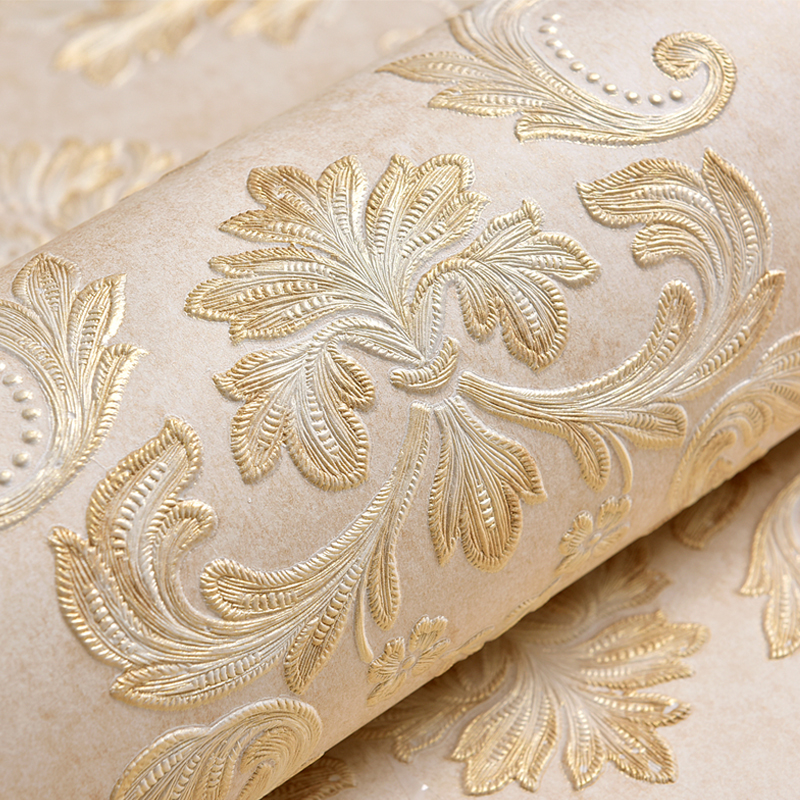 High Quality Deep Relief Textures 3D Wallpaper European Style Living Room TV Sofa Backdrop Wall Home Decor Non-Woven Wall Papers антенны телевизионные ritmix антенна телевизионная