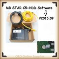 Latest Top MB STAR C5 with HDD software SDConnect C5 Multiplexer Diagnostic Tool with WIFI upgrade of MB STAR C4 Multi-language