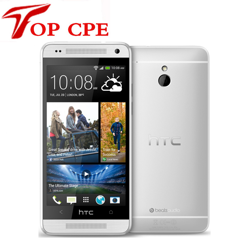 Original HTC ONE Mini 601e GPS WIFI 4 3 TouchScreen 4MP camera 3G 16GB ROM Dual