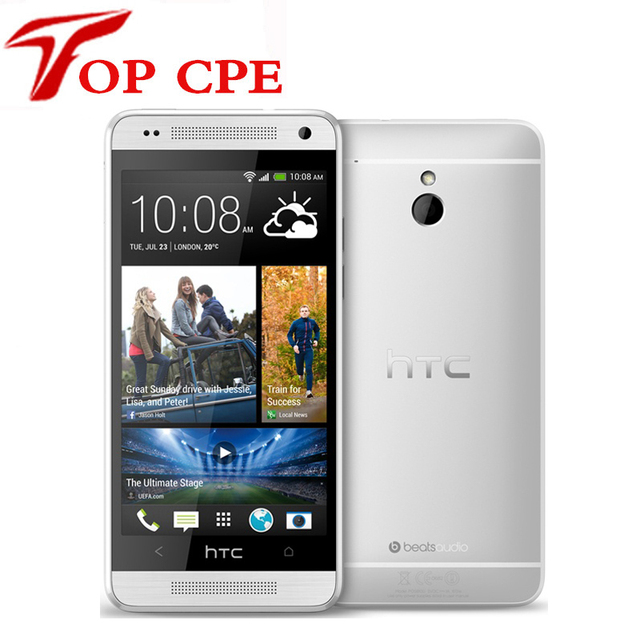 Original HTC ONE Mini 601e GPS WIFI 4.3''TouchScreen 4MP camera 3G 16GB ROM Dual core Unlocked Android  refurbished mobile phone