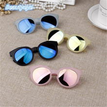 6 Colors Fashion Round Cute Kids Sunglasses Brand Boys Sun glasses Baby Vintage children glasses Gift Oculos De Sol Ga UV400