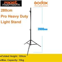 Профессиональный сверхмощный светильник Godox 280 см, 2,8 м, 9 футов, подставка для лампы Френеля, вольфрамовый светильник, ТВ-станция, студийный фото-студийный штатив
