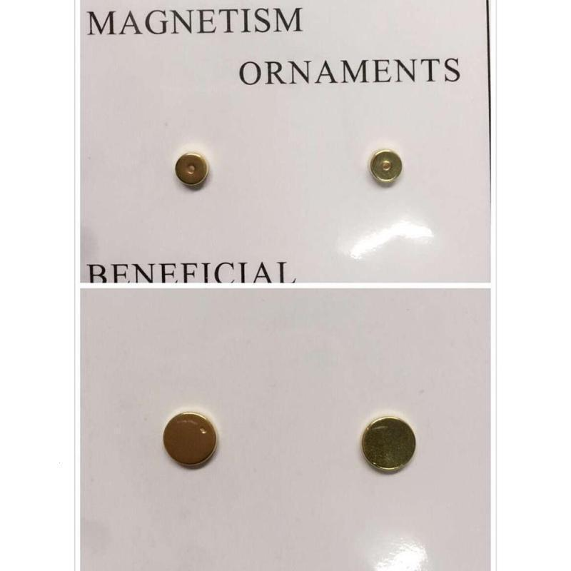 1Pair Gold Magnetic Earing Slimming Magnet Ear Massage Stimulating Acupoints font b Weight b font font