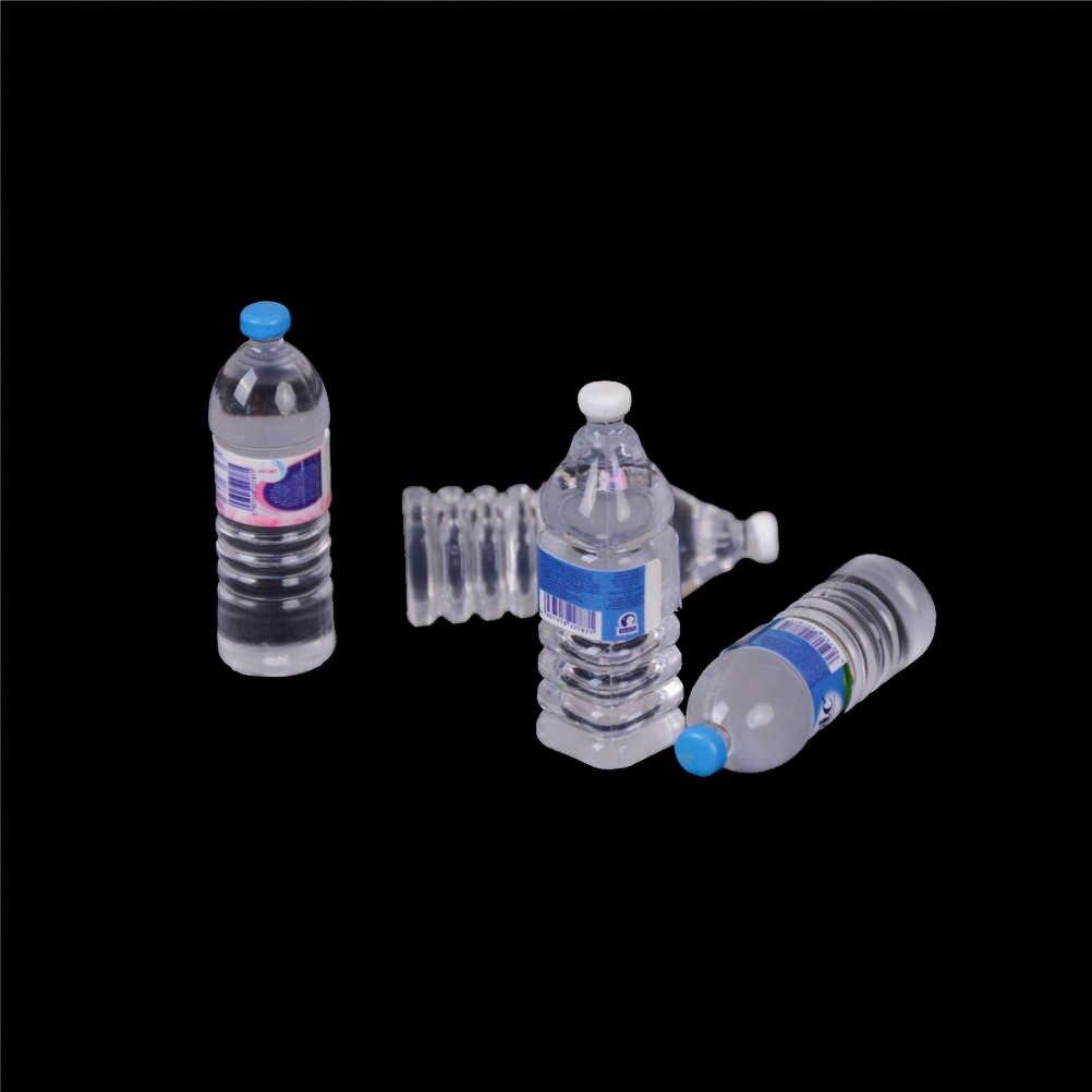 2 uds. 1:12, cocina, comedor, bebida, botellas de agua en miniatura, casa de muñecas, comida, muñecas, accesorios, juego de comida, juguete