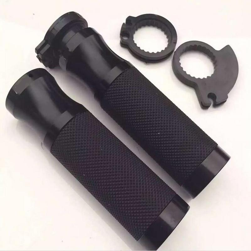 "CNC 7/8"" Universal Motorcycle Handlebar Grips Dirt Bike Handle Hand Bar For RIZ0MA Kawasaki Er6n Z750 Z800 Z1000 VERSYS 1000"