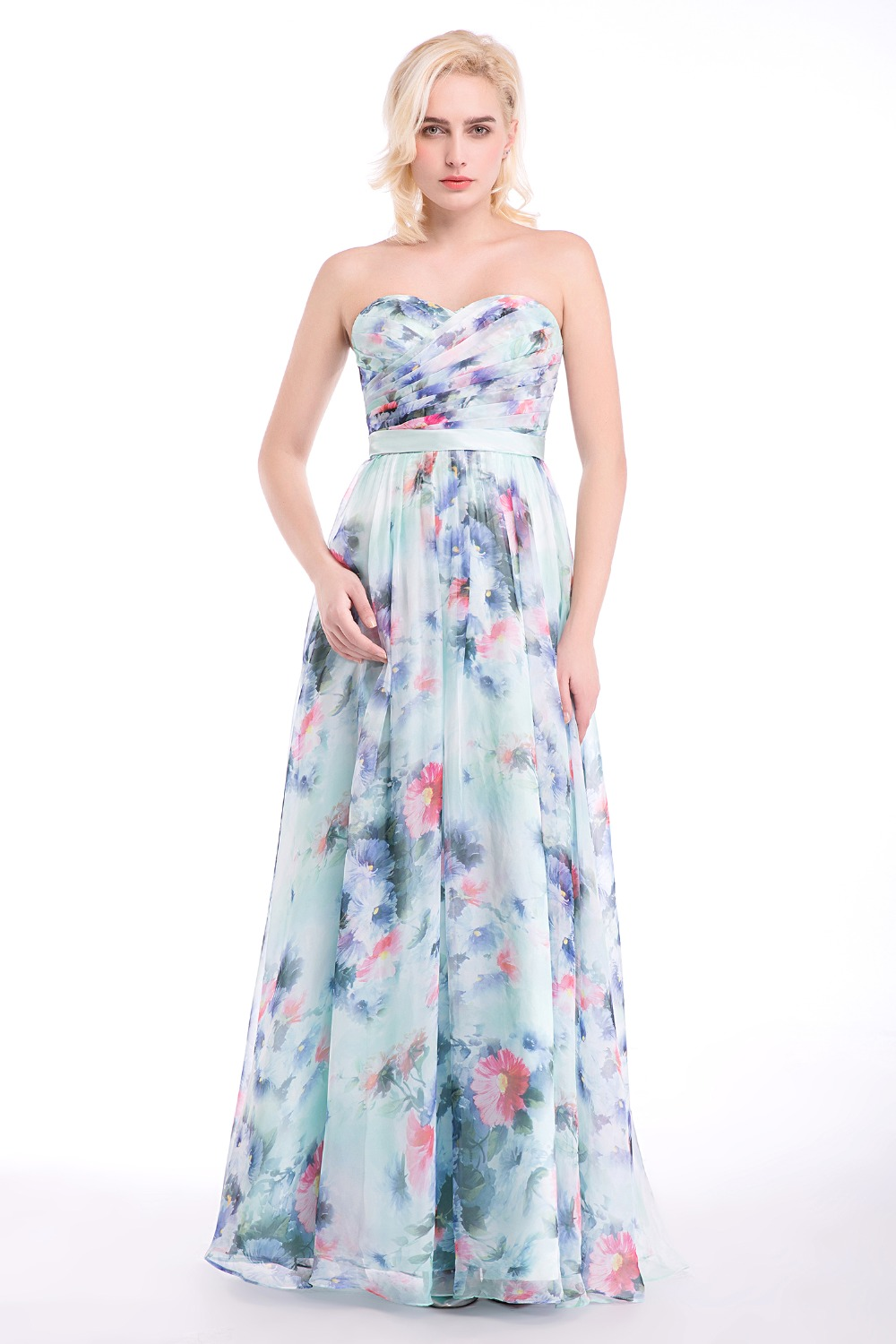 Online buy wholesale multi color bridesmaid dresses from for Multi colored wedding dresses