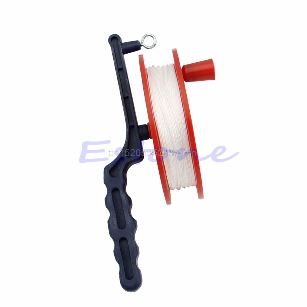 60M Outdoor Ball Bearing Wheel Kite Winder Tool Reel Handle Line String Winder #HC6U# Drop Shipping