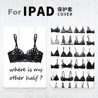 Women Bra Print Magnet PU Leather Case Flip Cover For iPad Pro 9.7