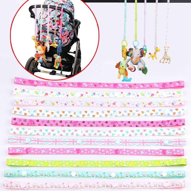 Sucette chaîne poussette accessoire sangle HolderToys économiseur fixe lier ceinture jouet bébé Anti-goutte cintre ceinture lanière siège auto G0115