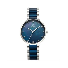 Наручные часы Obaku V189LXCLSL женские кварцевые на биколорном браслете