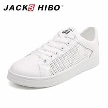 JACKSHIBO Летние плоские туфли Женщины Белый цвет Женские кроссовки Сетка Верхний большой размер Женская повседневная обувь Chaussures Femme