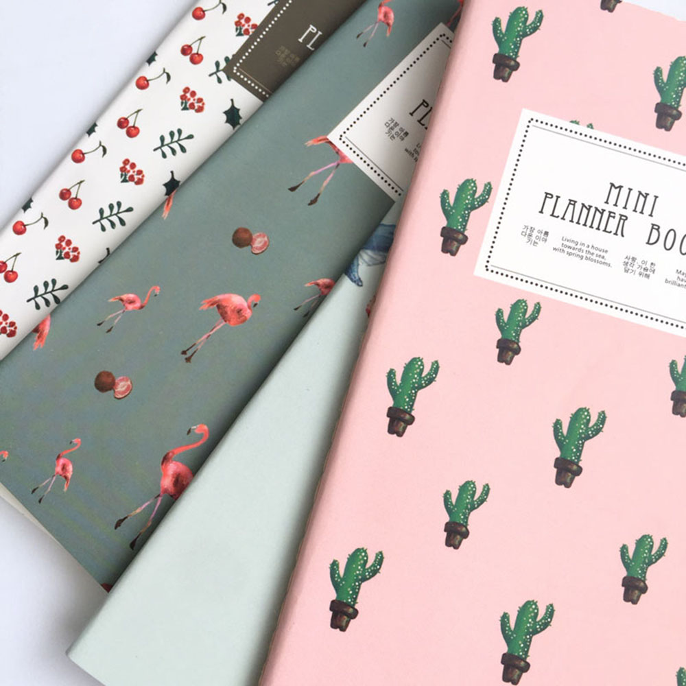 2RU_24-Sheets-Cactus-Flamingo-Cherry-Planner-Notebook-To-Do-List-School-Office-Supply-Student-Stationery-Notepad (1)