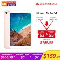 Оригинальный Xiaomi mi Pad 4 OTG mi Pad 4 Планшеты 8 PC Snapdragon 660 Octa Core 1920x1200 13.0MP + 5.0MP Cam 4G планшет Android