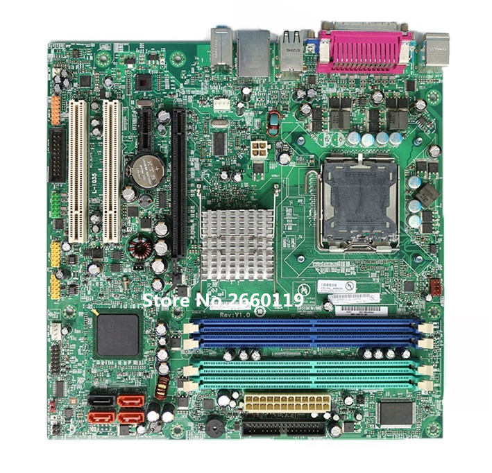 High quality desktop motherboard for M57 M57P L-IQ35 M8050 Fully tested