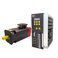 best price 7.5KW 8000RPM high speed spindle motor low speed spindle servo motor with spindle drive