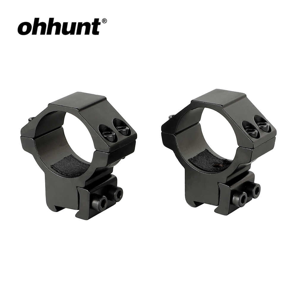 Ohhunt 4pcs Polymer Scope Rings Mount Adapter Reducer Ring Inserts 30mm To 25 4mm Riflescopes Scope Ring Mount Scope Ringsscope Mount Rings Aliexpress