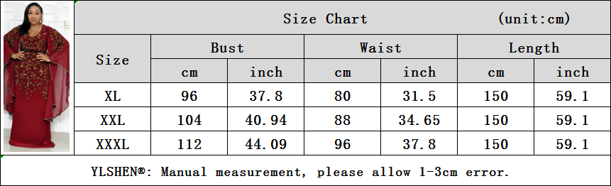 African Dresses for Women 2019 New Dashiki Embroidery Sequins African Clothes Bazin Riche Sexy Slim Big Sleeve Long Africa Dress 18