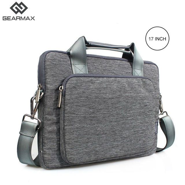 ed21b64cb155 GEARMAX Fashion Laptop Bag 17 17.3 For Macbook Air 13 Case Women Men Nylon Laptop  Bag 13.3 15 17 For Macbook Pro 13 Case Blue