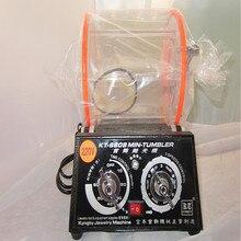 6808 Ёмкость 3 кг Стоматологическая барабан шлифовальные машины, ювелирные изделия поворотного стакан полировки ювелирных изделий, золотистый, серебристый, цвета алмаза очистки приработки галтовочная мотор